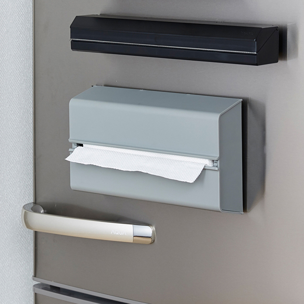 IDEACO|ABS壁掛/桌上兩用擦手紙架