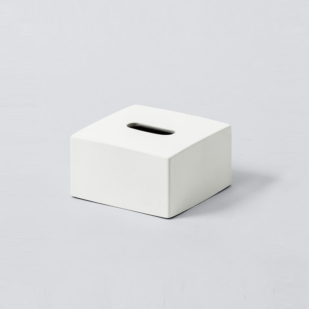 IDEACO|方形磨石餐巾紙盒