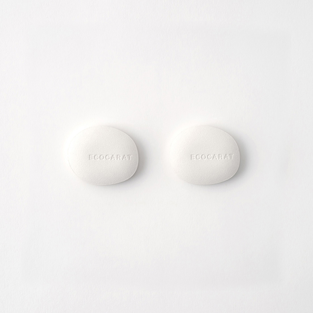 MARNA 日製ECOCARAT 天然多孔陶瓷5倍吸濕調節乾燥石-2入組