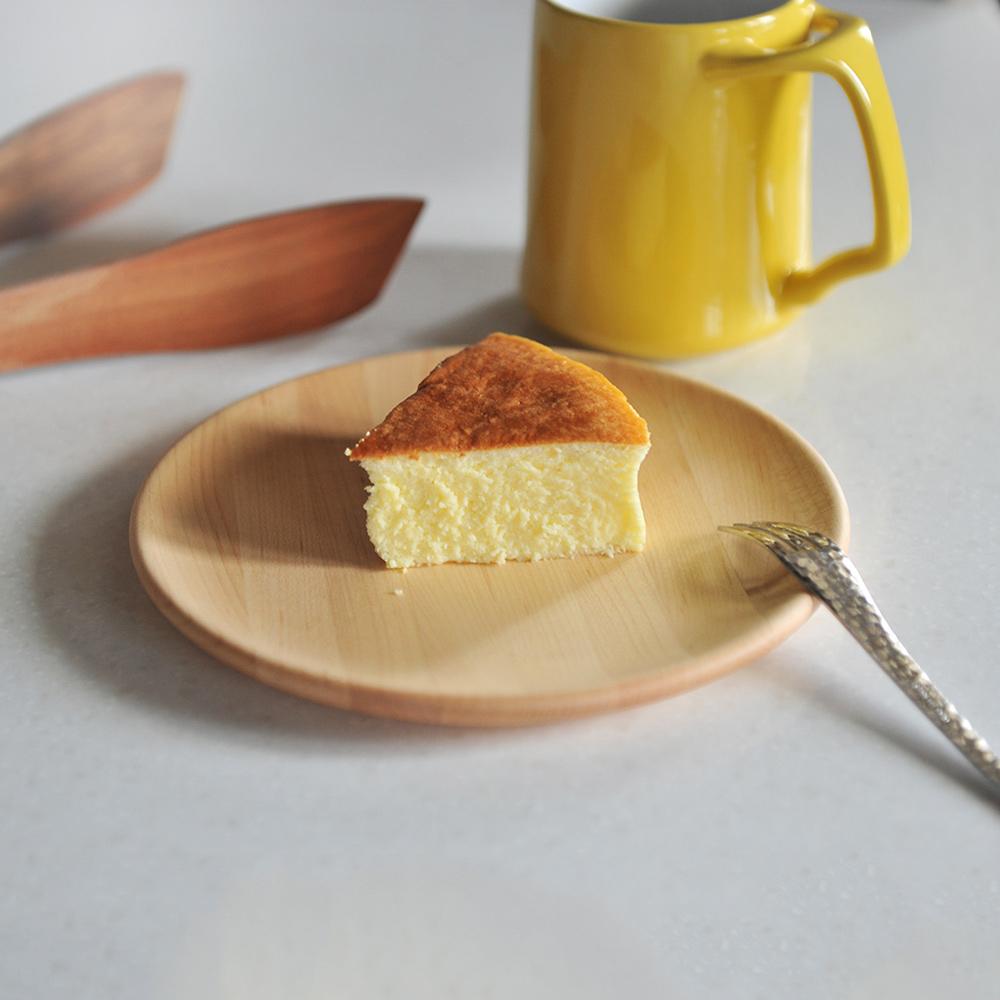 365methods|天然楓木淺型餐盤-18cm