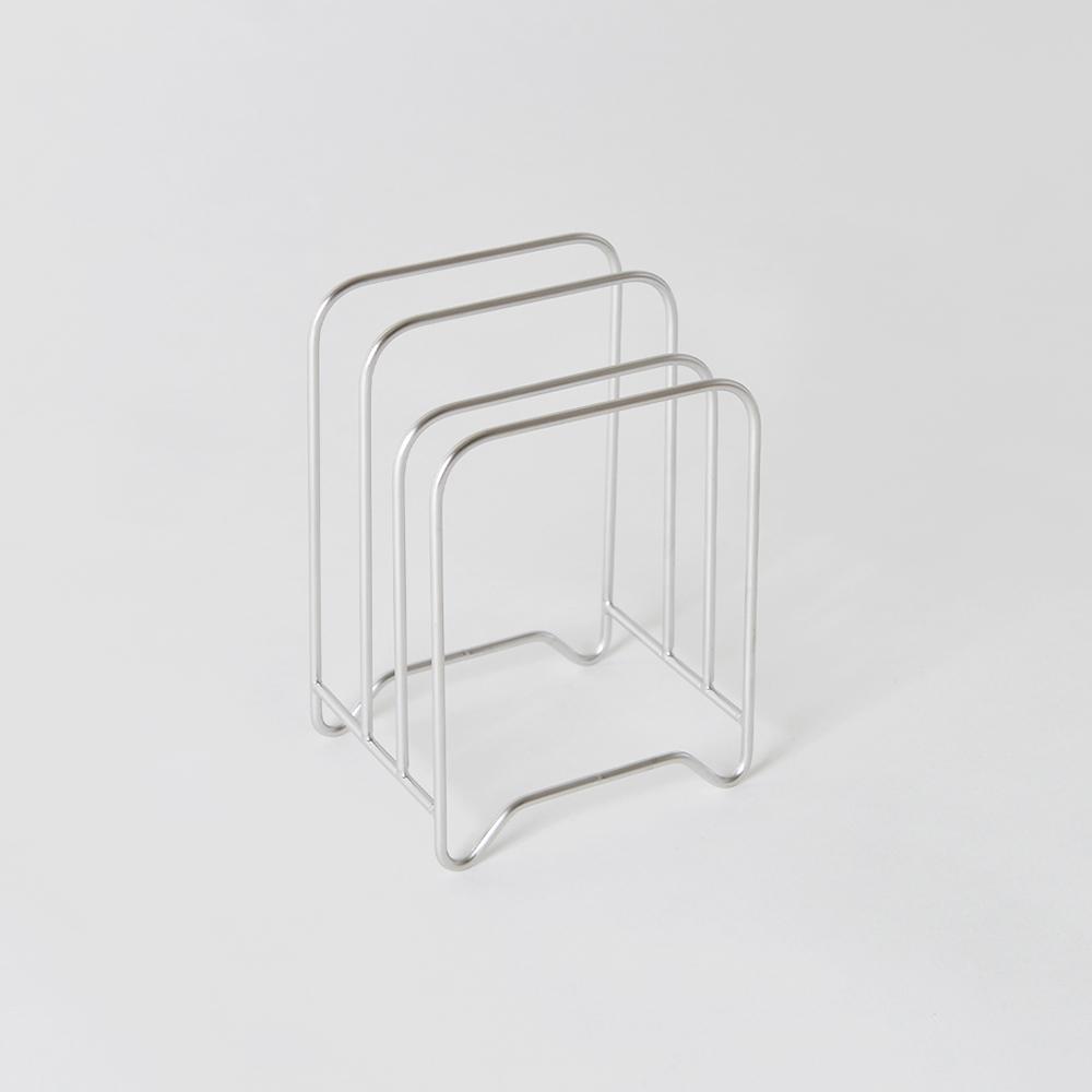 大木金屬|Outline 日製究極鏤線18-8不鏽鋼三層砧板瀝水架