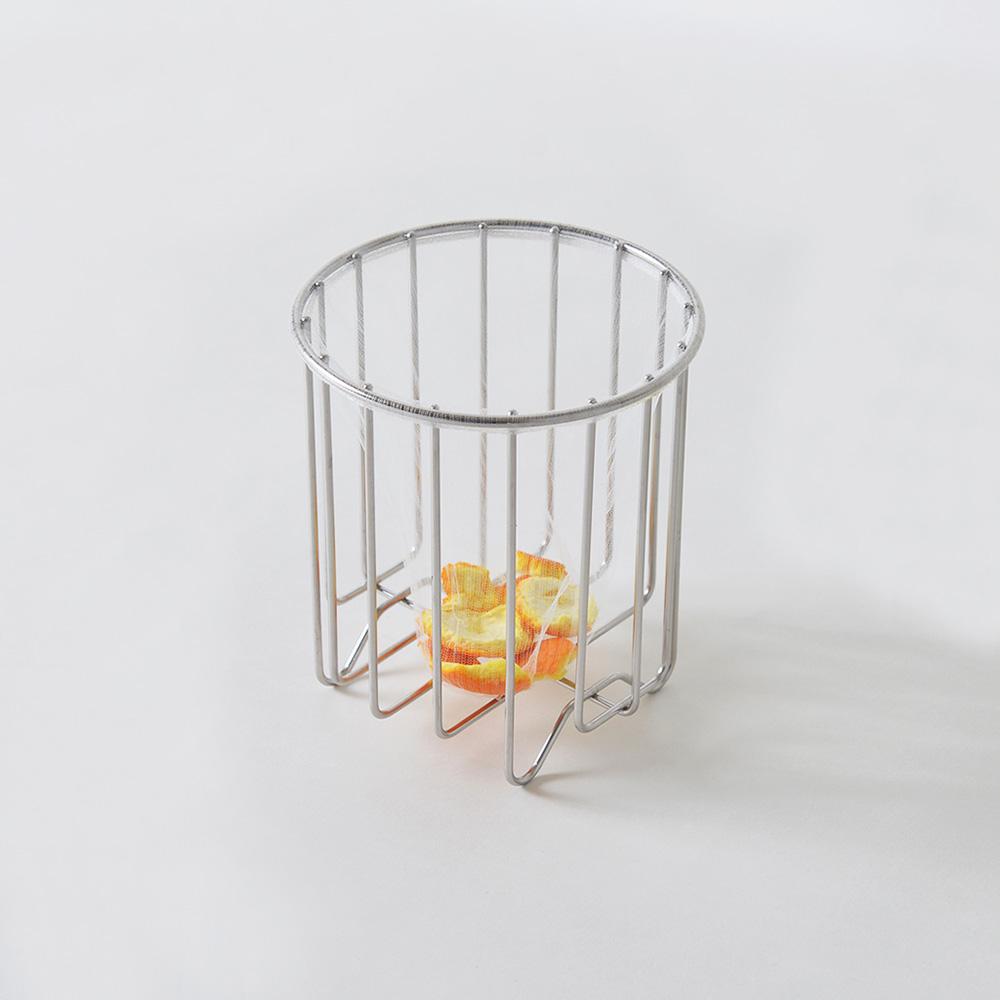 大木金屬|Outline 日製究極鏤線18-8不鏽鋼廚餘瀝水筒