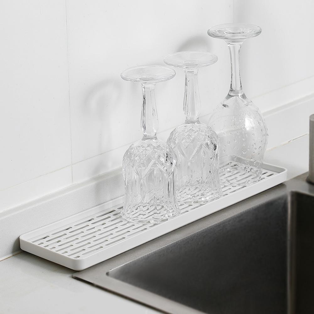 霜山|多功能廚具碗盤雙層瀝水盤/托盤-窄型