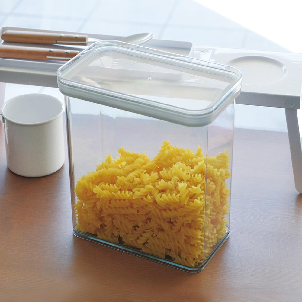 霜山 日製防潮保鮮透明儲物密封罐-2.4L -3入