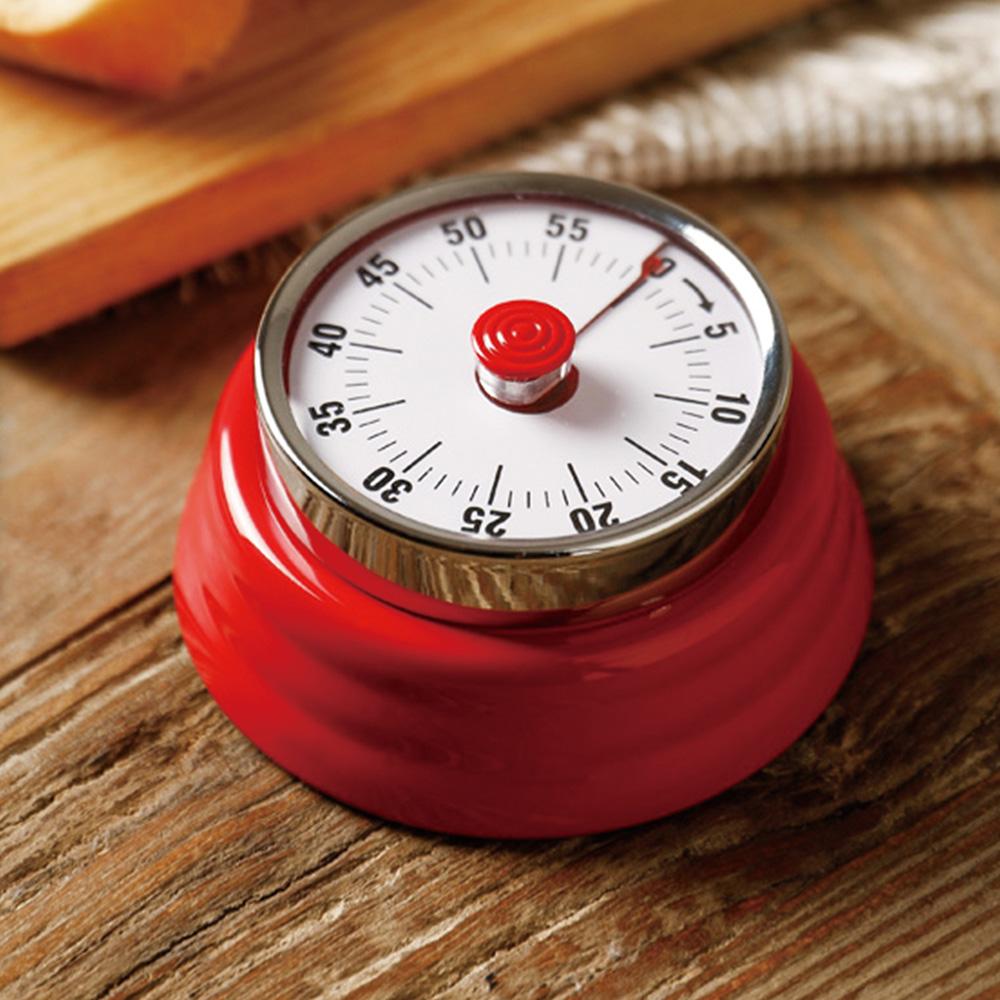 霜山|美式復古造型磁吸機械式計時器(免電池)