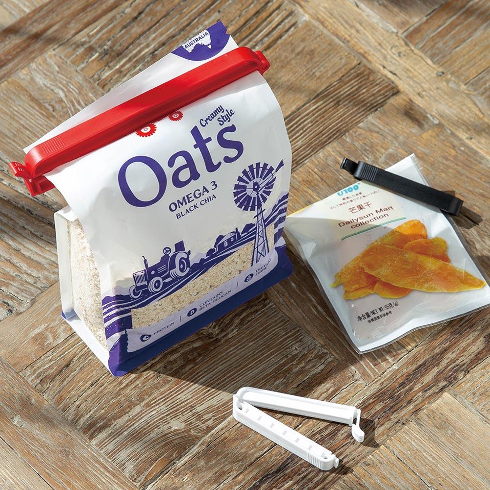 霜山|食物零食保鮮封口夾-3大6小套組