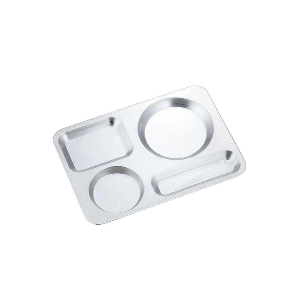 高桑elfin|不鏽鋼個人餐盤-銀色