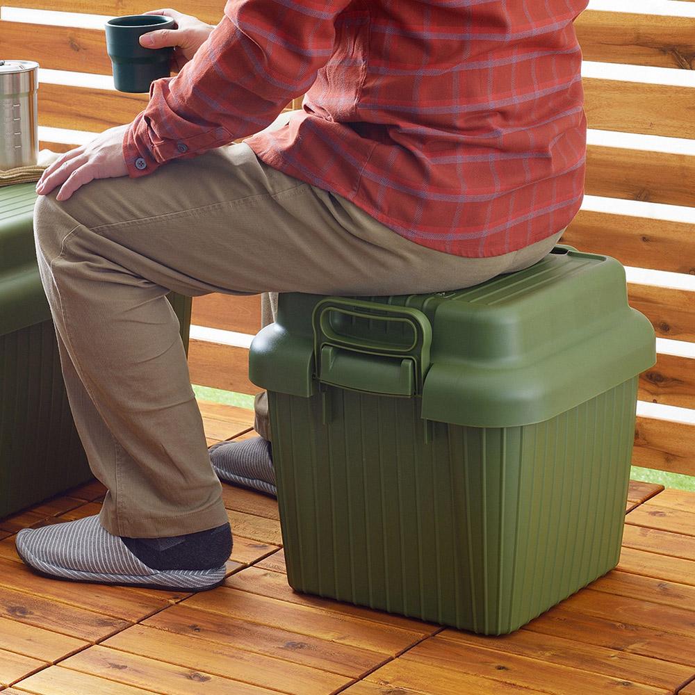 squ+ VARIOUS BOAT日製戶外室內耐壓收納箱-S-4色可選