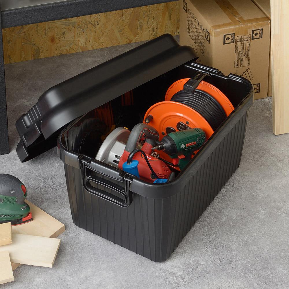 squ+ VARIOUS BOAT日製戶外室內耐壓收納箱-M-4色可選