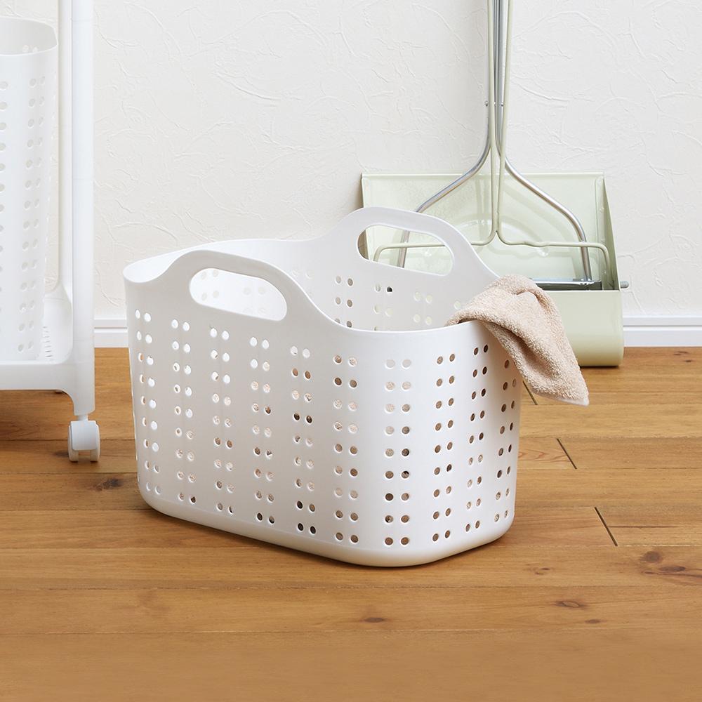 squ+|Volca日製隙縫型手提洗衣籃-M-4色可選
