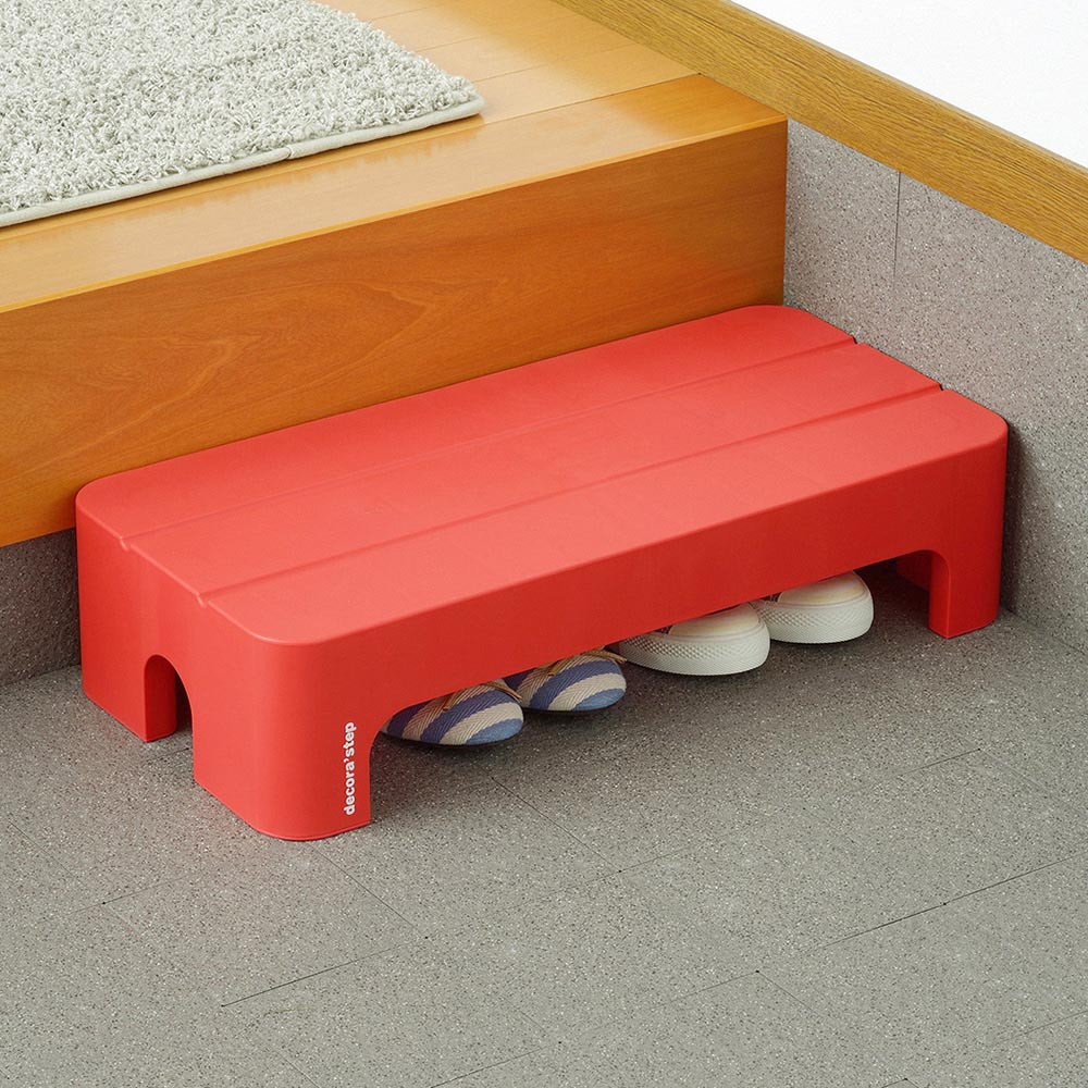 squ+ Decora step日製長形多功能墊腳椅凳(高14cm)-3色可選