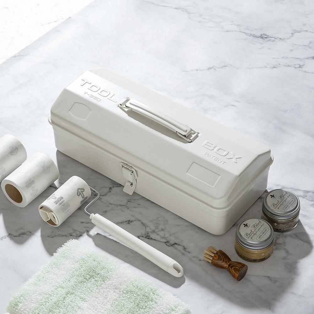 TOYO Y-350 日製山型提把式鋼製單層工具箱