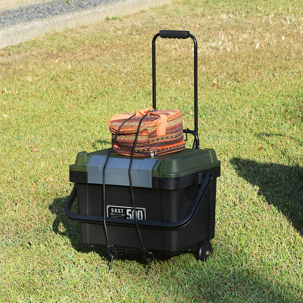 JEJ 鋼製便攜輕巧摺疊手推車-高87.5CM