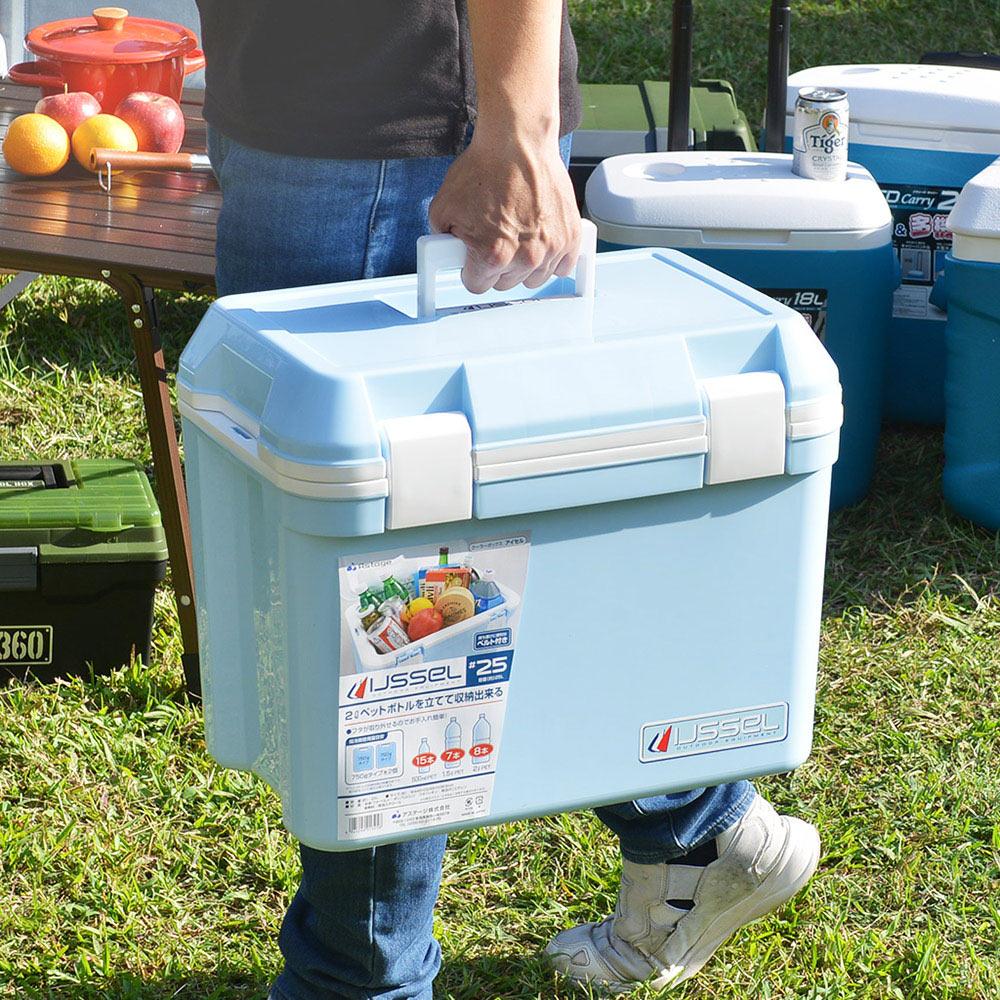JEJ|日本製手提肩揹兩用保冷冰桶(附背帶)-25L