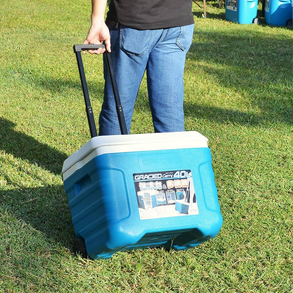 JEJ|三段式行動拉桿保冷冰桶-40L