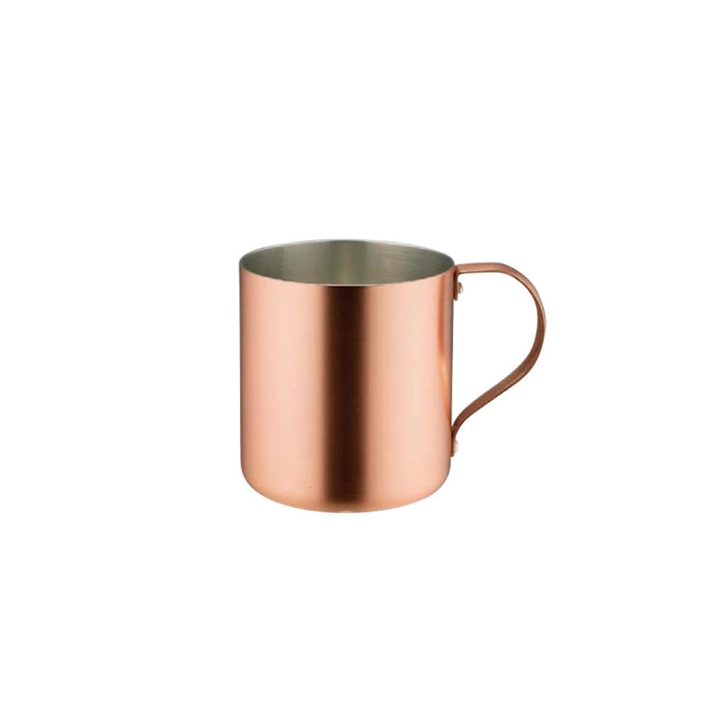 高桑élfin|純銅冰咖啡啤酒杯300ml-霧銅