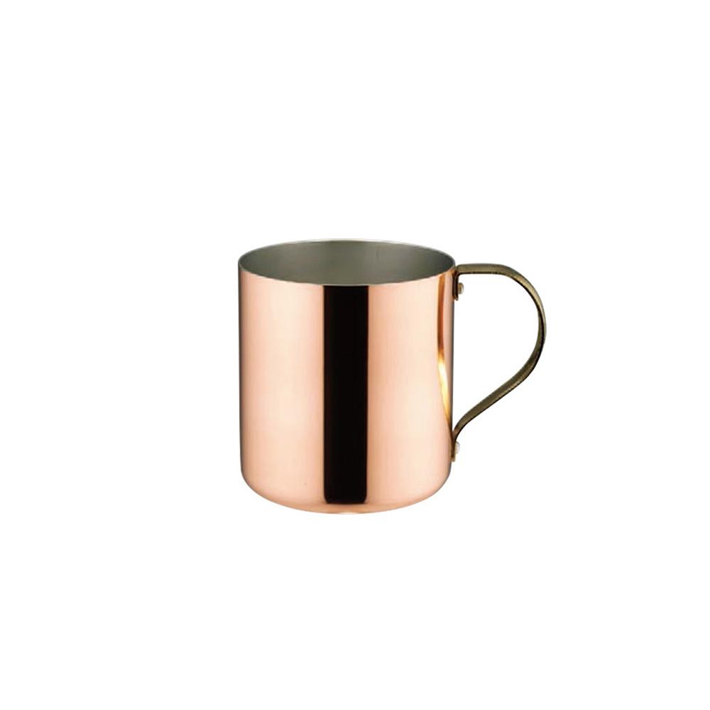 高桑élfin 純銅冰咖啡啤酒杯300ml-亮銅