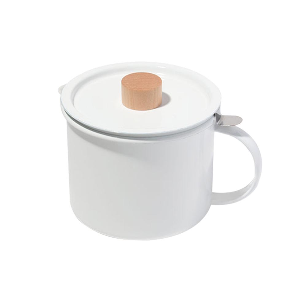 FORMLADY 小泉誠 kaico日製琺瑯濾油壺(附活性碳過濾器)-1.8L