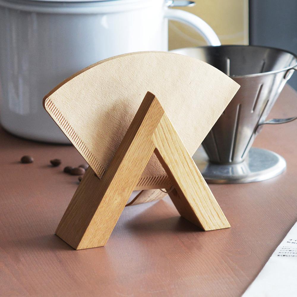 FORMLADY|小泉誠 ambai日製原木咖啡濾紙收納架