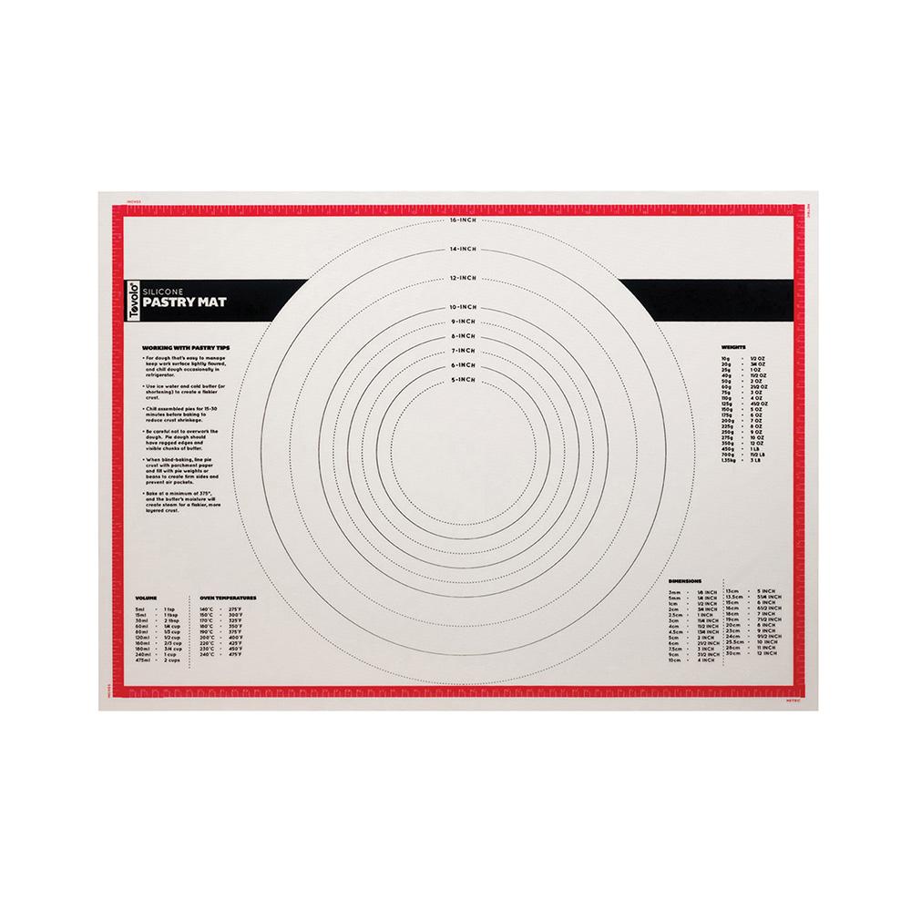 Tovolo|多功能耐固抗裂矽膠揉麵墊附刻度(63x45cm)