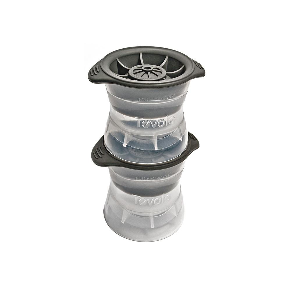 Tovolo|圓形易取式製冰器2件組 (直徑6.3cm)