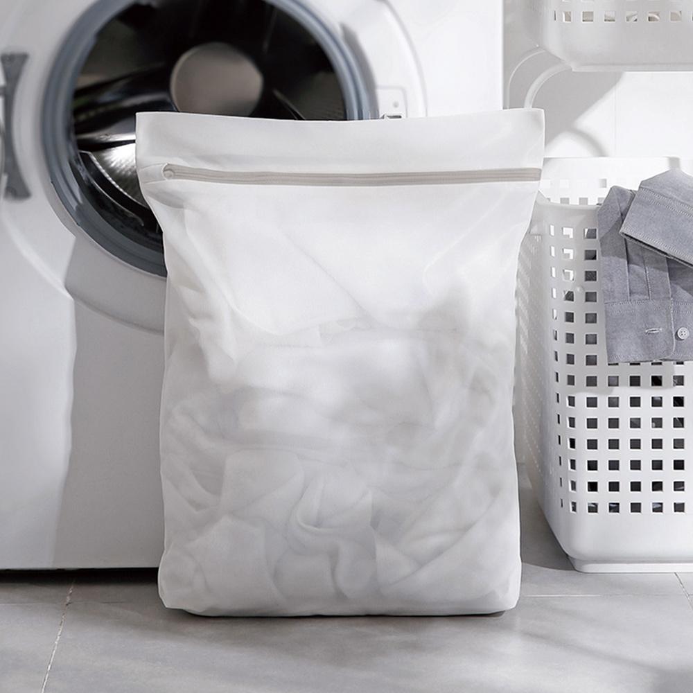 霜山|方形細網抗變形衣物收納/洗衣袋-3入