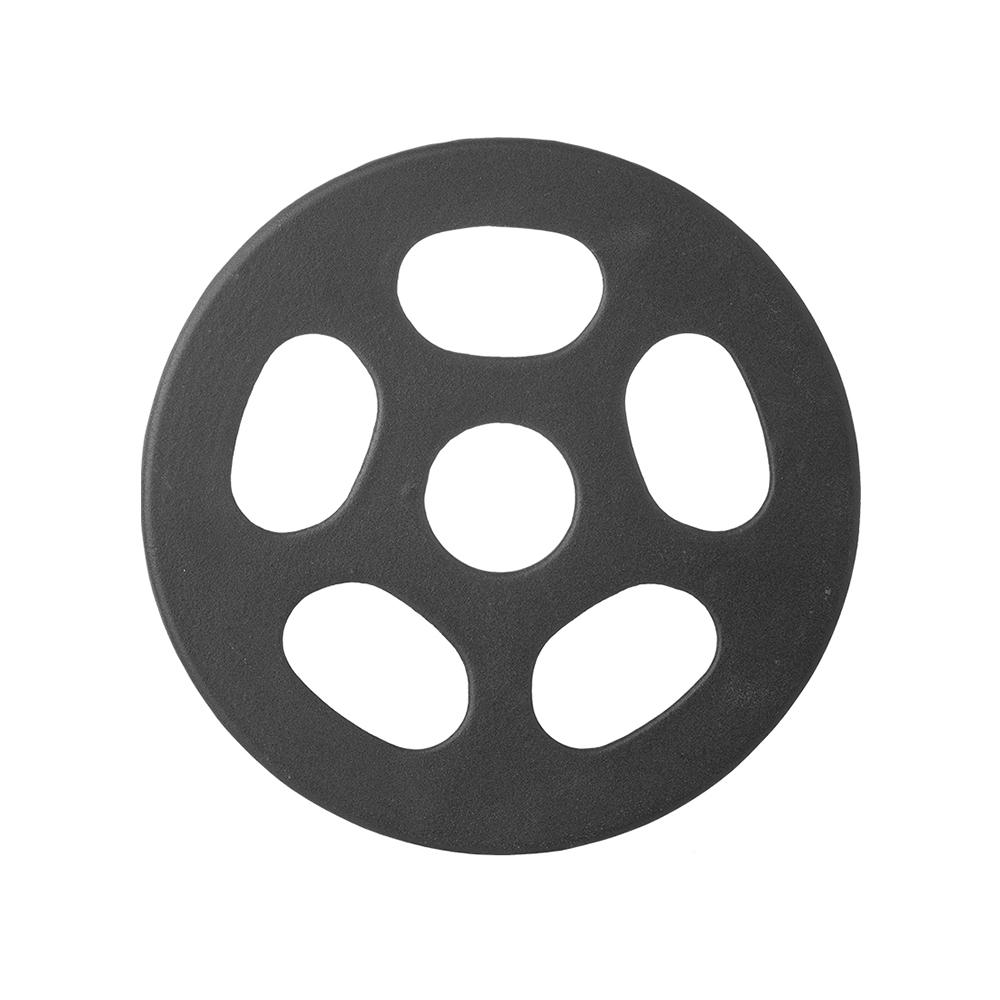 霜山 瓦斯爐縮口鑄鐵輔助鍋架(小型鍋壺專用)-直徑14cm