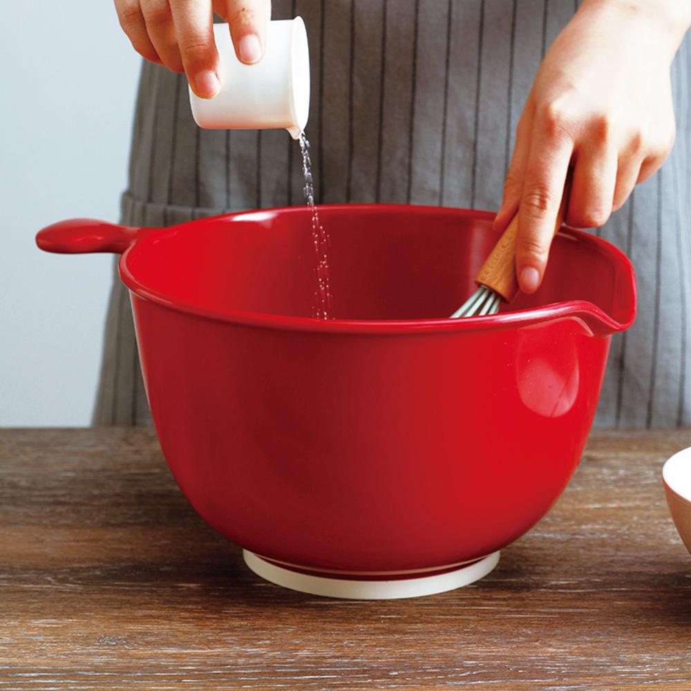 霜山 仿瓷深型料理止滑攪拌盆-3.8L (打蛋盆/調理盆)