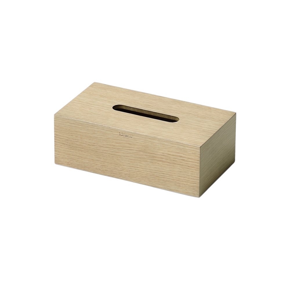 ideaco 橡木紋面紙盒
