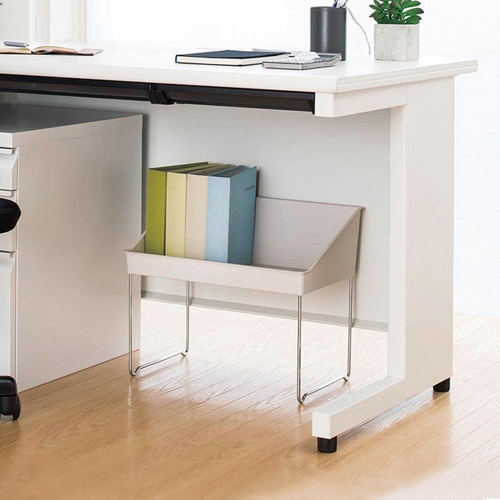 天馬|FitsWORK 桌下型支架固定式辦公包包置物盒