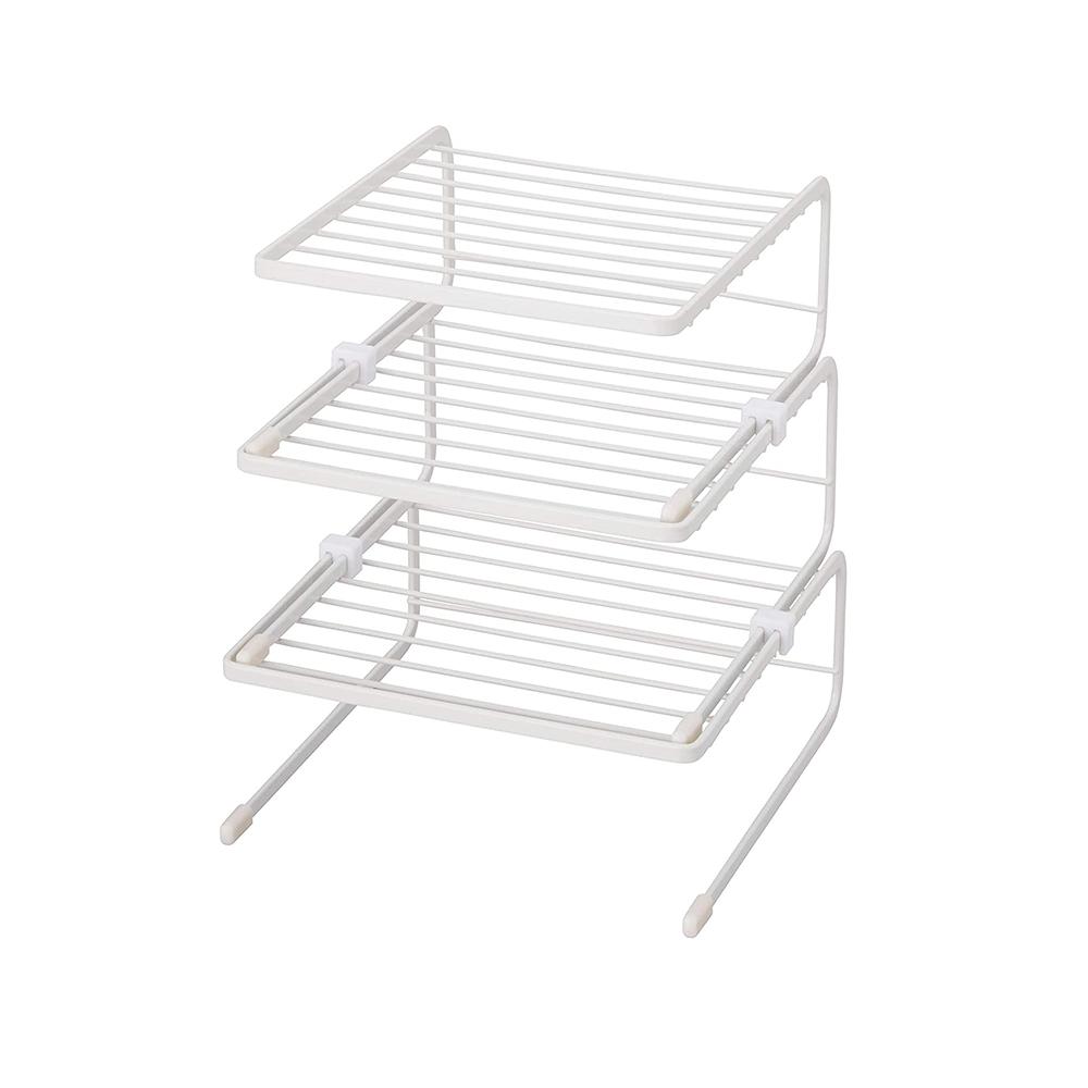 天馬|廚房系列多功能三層備料碗碟置物架