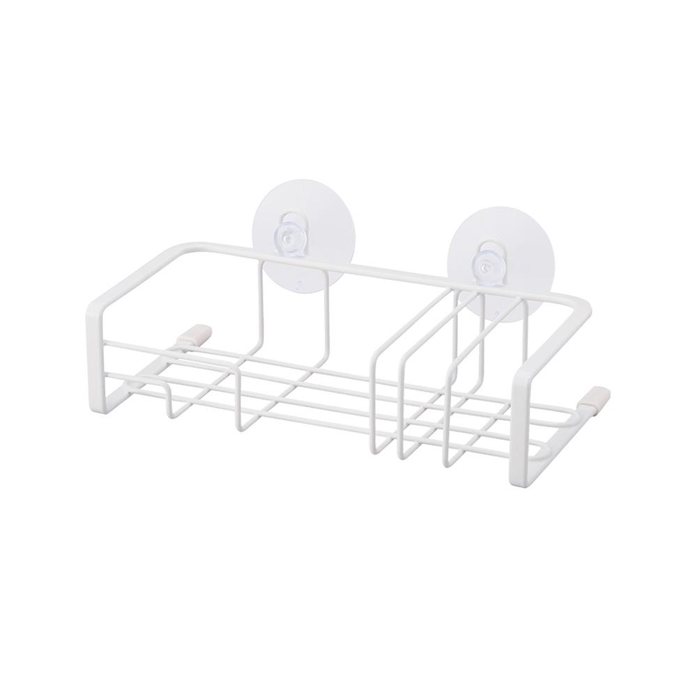 天馬|廚房系列吸盤式海綿菜瓜布分隔瀝水架
