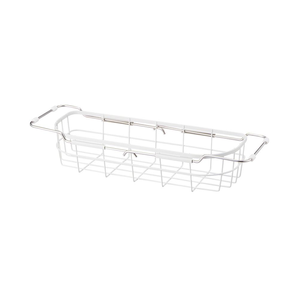 天馬|廚房系列窄型伸縮式碗盤瀝水籃