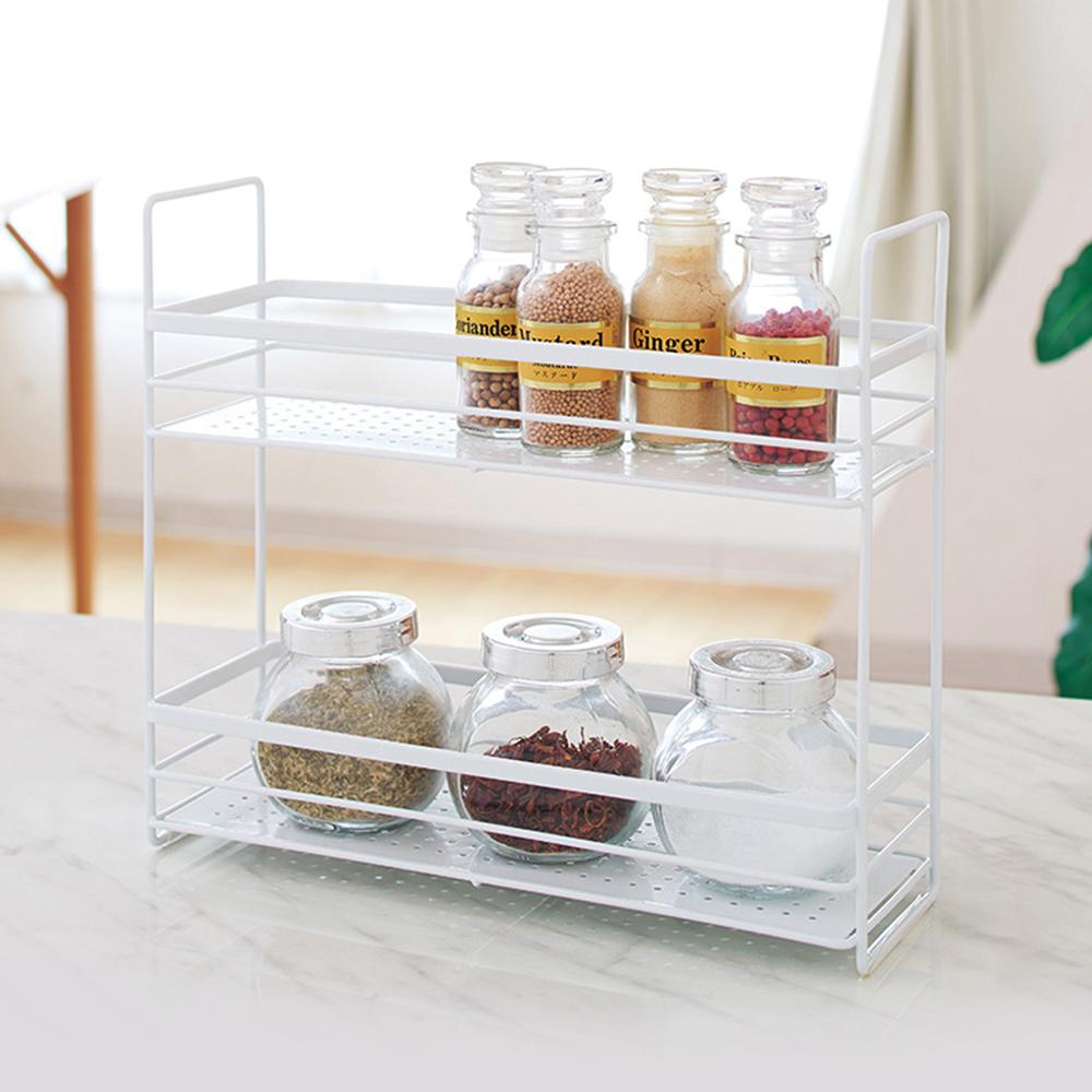天馬|廚房系列雙層調味料收納架