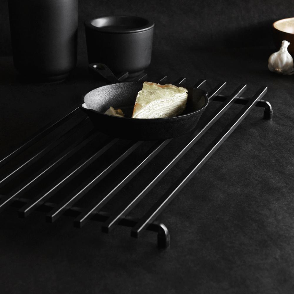 Morsø 皇家黑爵士加長型鐵製隔熱架(50x25cm)