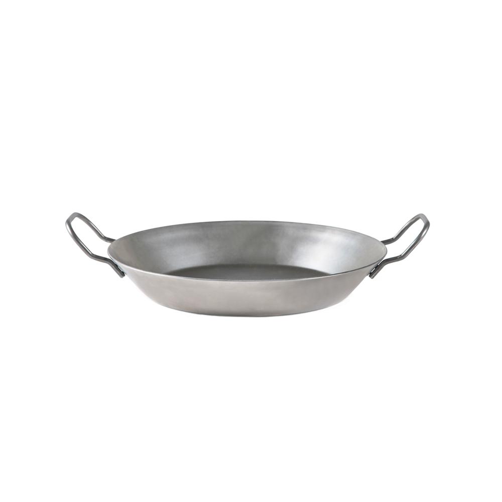 HOLM 德國製雙耳平底鍛鐵煎鍋-20cm