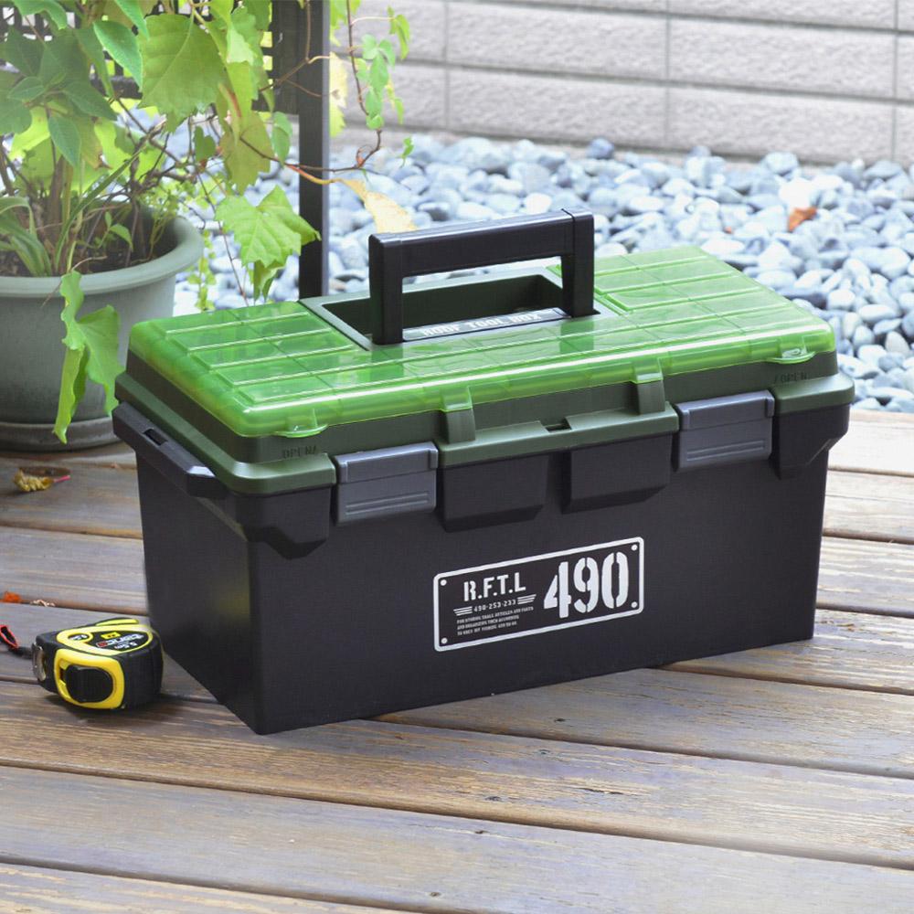 JEJ|490X專業三層分隔式PP手提工具箱