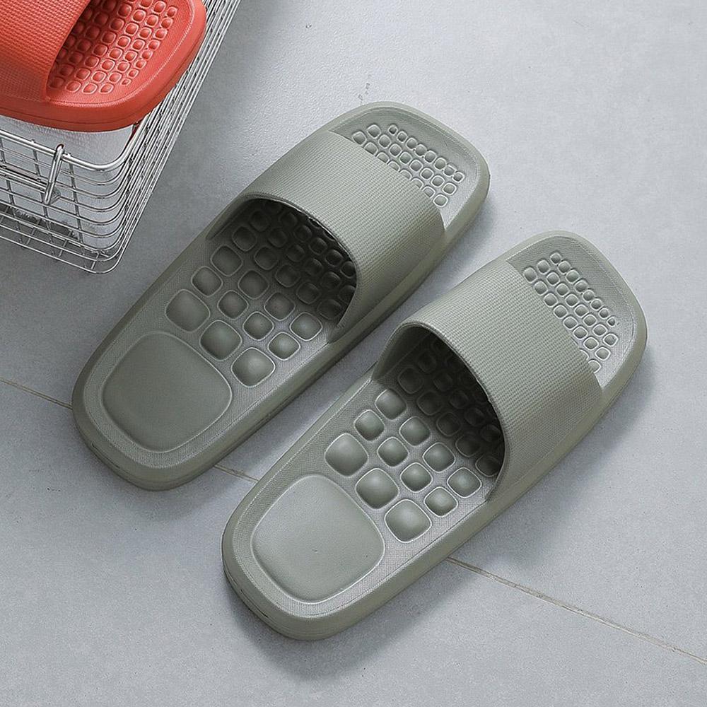 霜山|男款環保EVA輕量無臭防滑拖鞋(穴位按摩/室內/室外/浴室)-2色