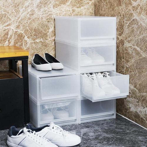 +O家窩 伊利PP可疊抽屜式鞋盒-6入