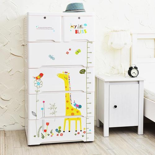 +O家窩 65面寬-特大款安圖森五層收納櫃-童年時光-DIY
