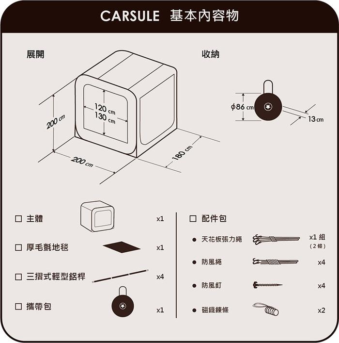 MOGICS|CARSULE 膠囊客廳 - 幫你的愛車外掛 1 個客廳 !
