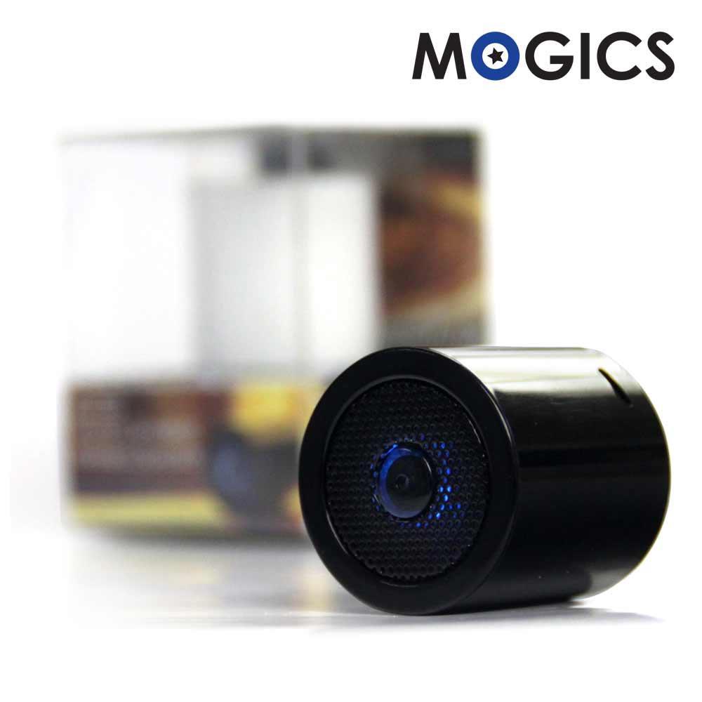 MOGICS|MS1高音質防水藍牙喇叭(酷炫黑)