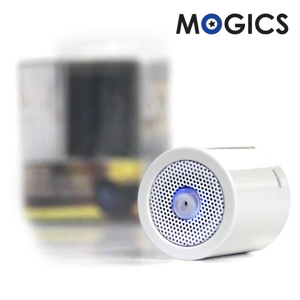MOGICS MS1高音質防水藍牙喇叭(天使白)