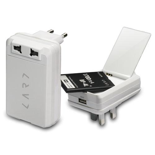 CARD|CAP-W 多功能萬國旅行插座(白)