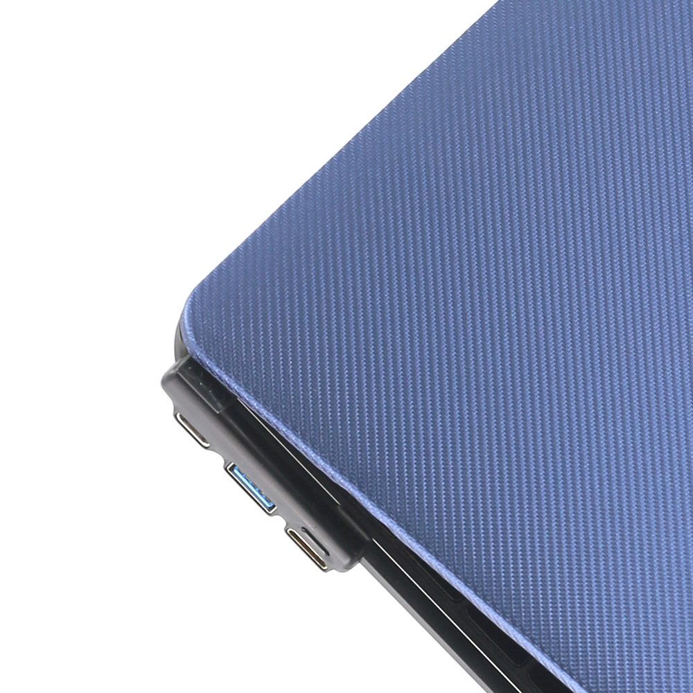 CARD|BOOST-MacBook 12 終極HUB擴充筆電殼 - 海軍藍