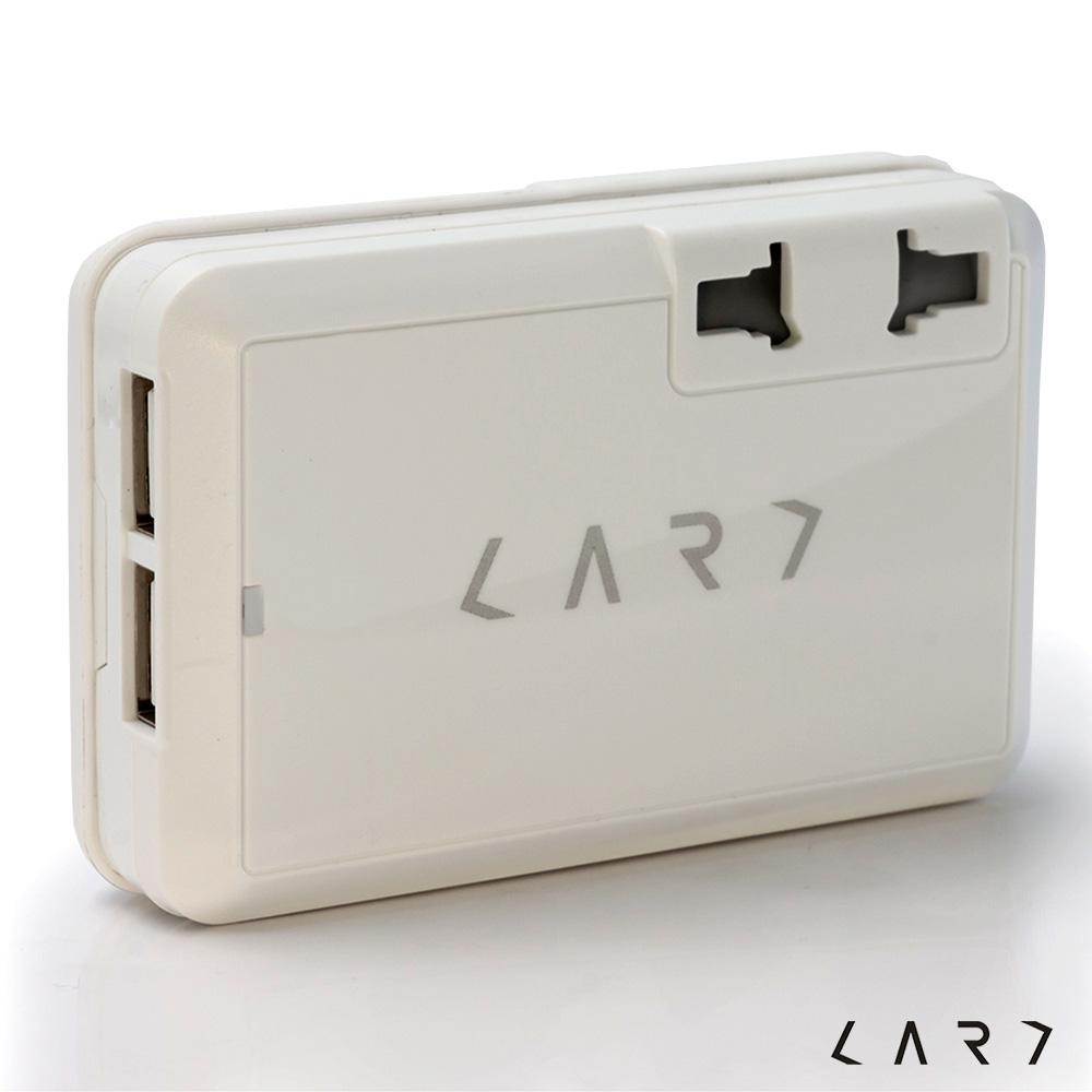 CARD|CA2 USB 全球旅行充電萬國轉換插座 (白色)