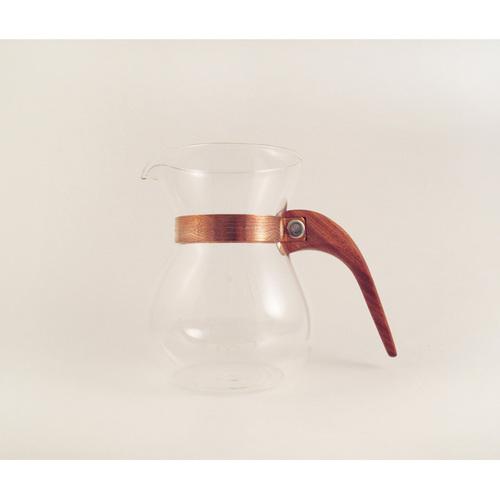 WM木合金|露・La Rosée木質手感咖啡壺組-簡約款-1壺(紅檀香)