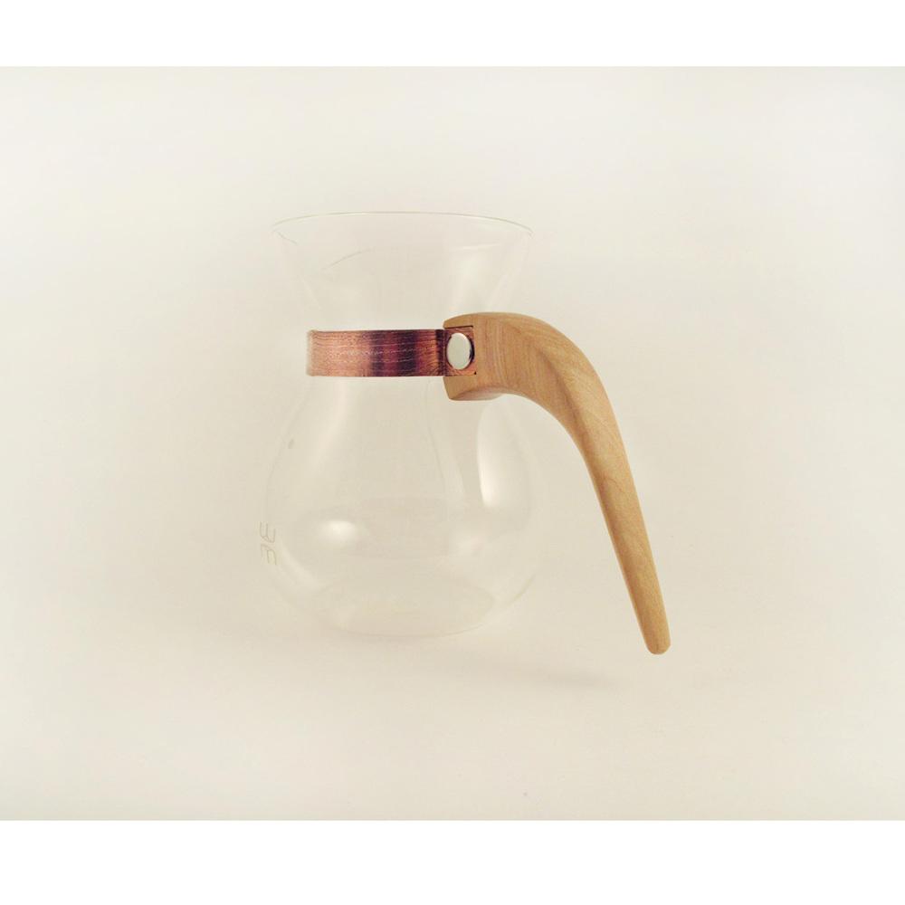 WM木合金|露・La Rosée木質手感咖啡壺組-簡約款-1壺(黃金象牙木)