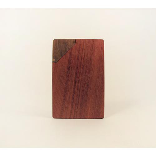 木合金設計WMDesign/手工木製名片盒/紅檀香