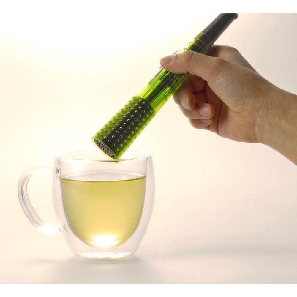 LANTO|泡茶器 Tealeidoscope(綠色透明)
